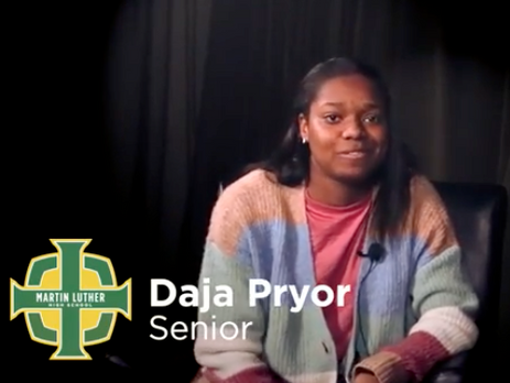 Daja Pryor - Martin Luther