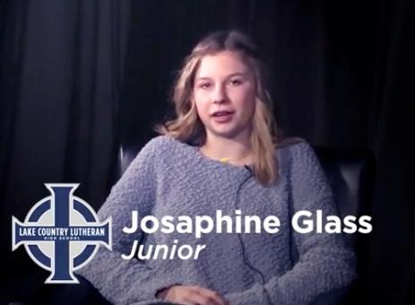 Josaphine Glass - Lake Country Lutheran