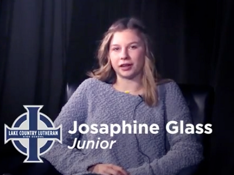Josaphine Glass - Lake Country Lutheran