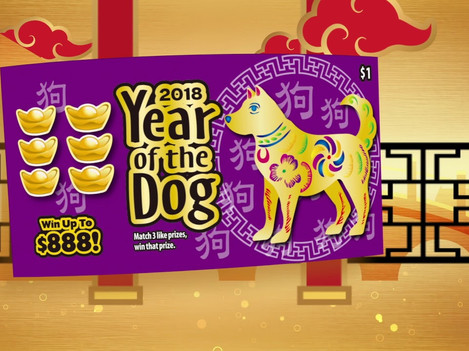 TVC/CF - CA Lottery Year of Dog