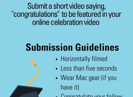 Help Build the Class of 2020 Video!