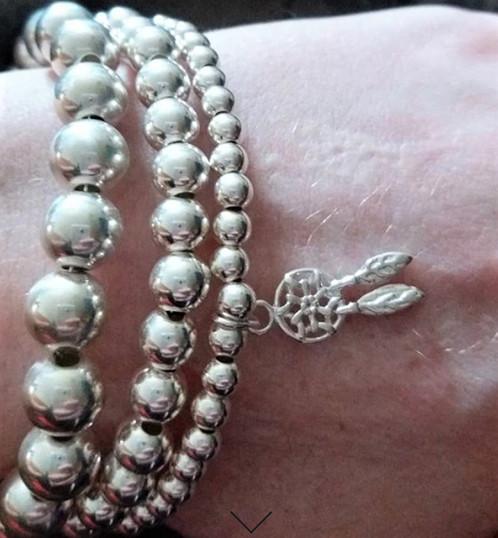 Dream catcher charm bracelet sterling silver stackable Impressive Dream Catcher Charm Bracelet