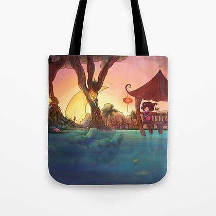 Friends from afar Tote Bag