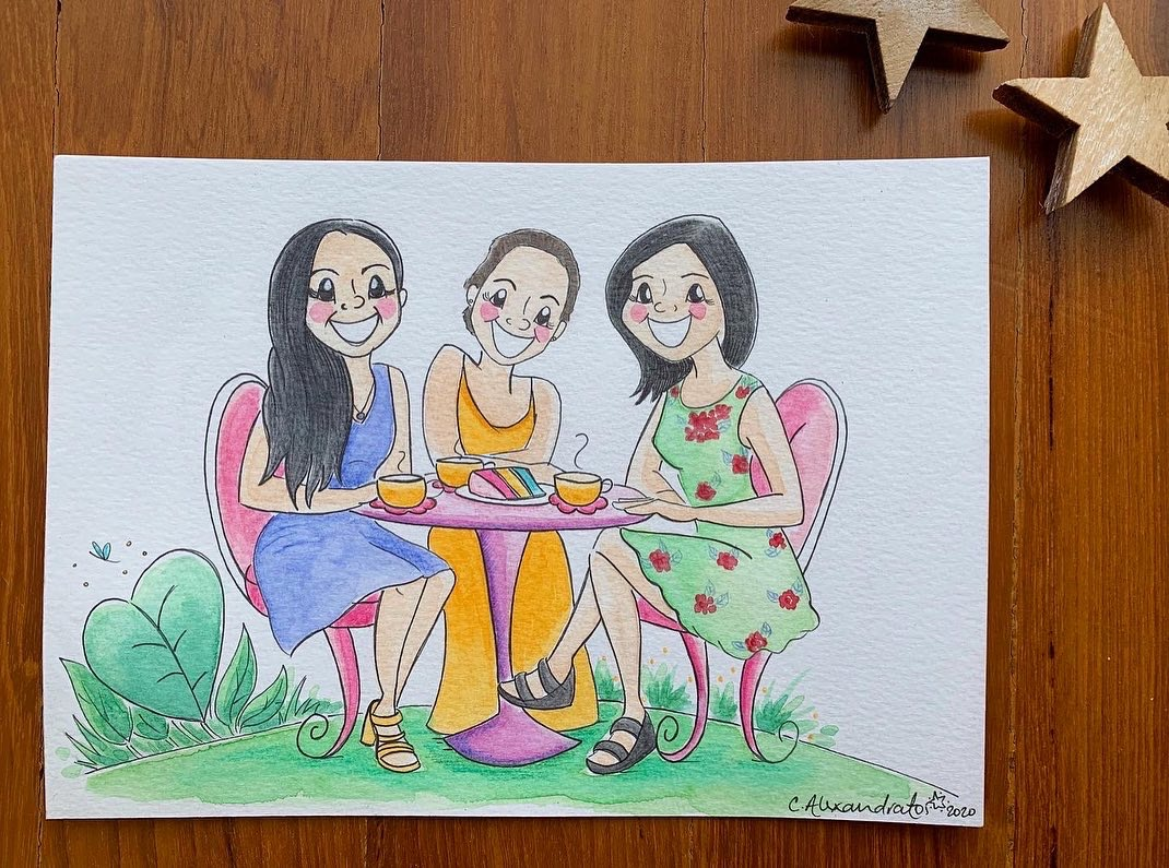Afternoon tea with the girls