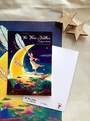 The Three Feathers postcard
