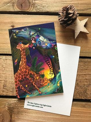 The Lone Explorer postcard
