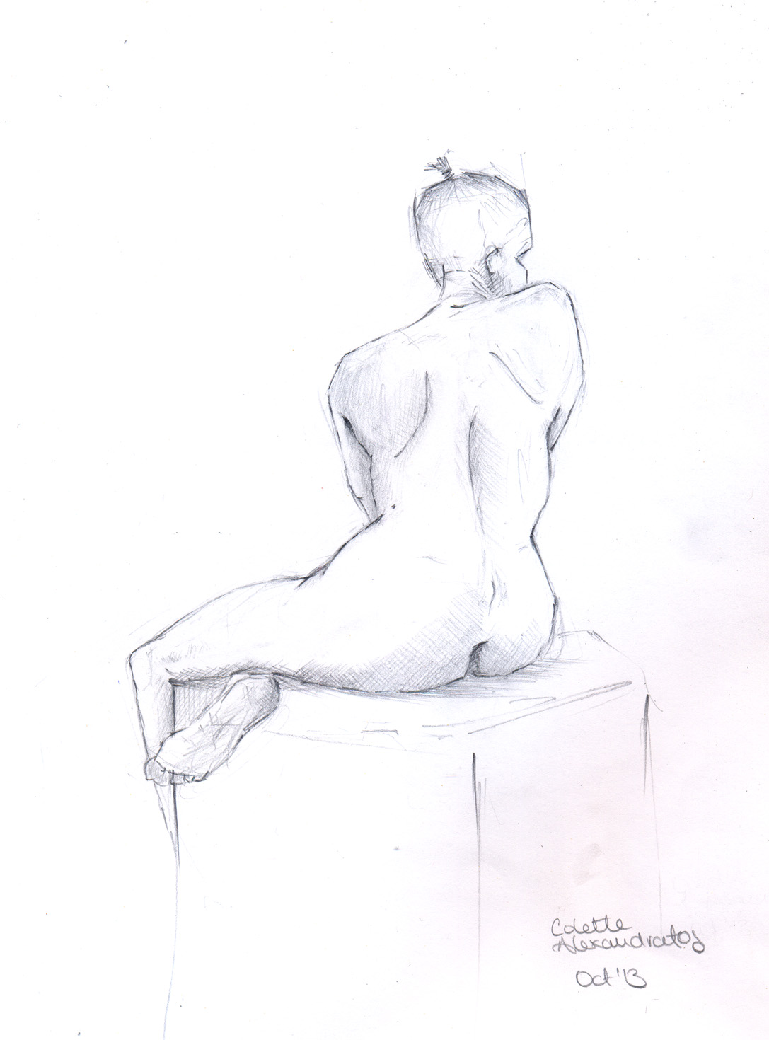 Life drawing and observational