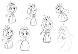 Princess Character designs