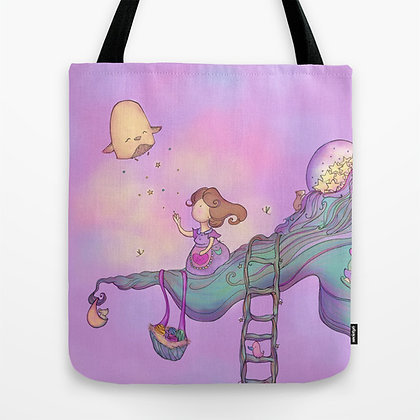 Up on the tree top 2 Tote Bag