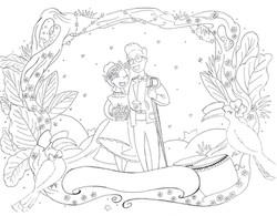 Inked wedding image