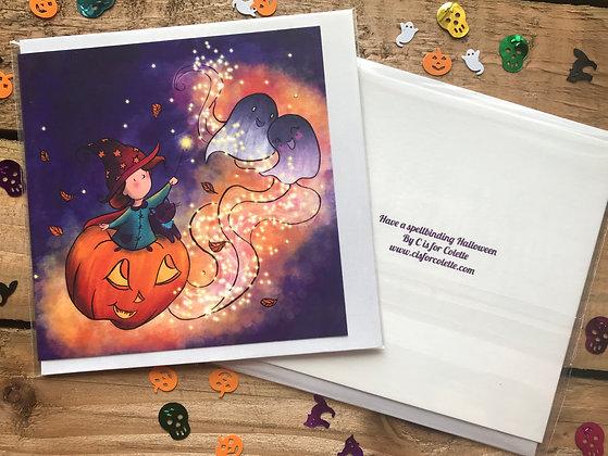 Have a spellbinding Halloween Greeting Card