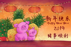 Chinese New Year designs