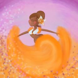 The sega dancer