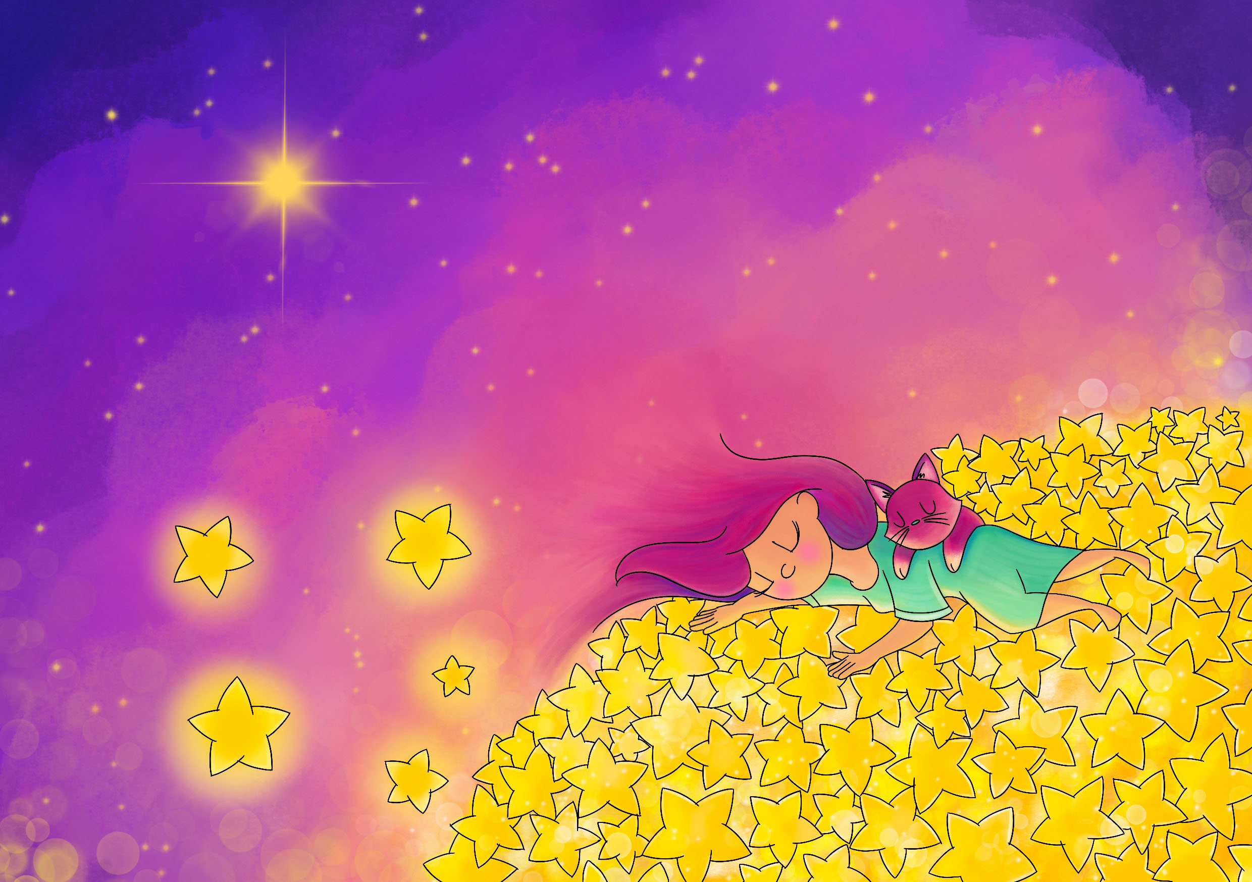 Let your dreams light up the night sky
