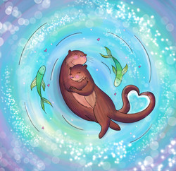 Otterly in love with you