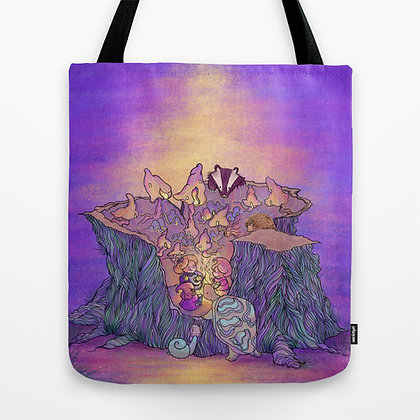 In the Mushroom Cove Tote Bag