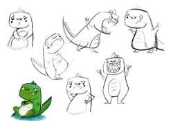 Grumpy character designs 1