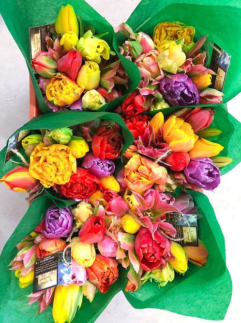 Weekly Flower Delivery - Average 8oz Mason Jar size