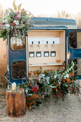 Styled Shoot Wine Truck