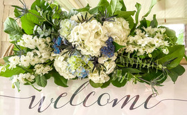 Welcome Sign Arrangment