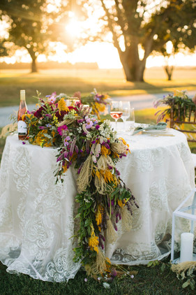 Styled Fall Table