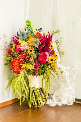Mallory's Bridal Bouquet