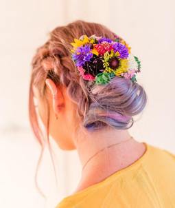 Colorful Hair Piece