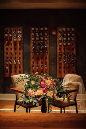 Wedding Bouquet & Chairs