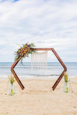 Mallory's Wedding Arch