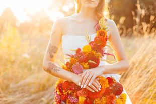 Floral Dress Photoshoot