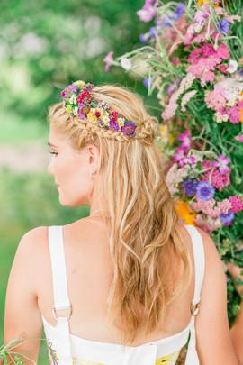 Wylder Bride and Flower Crown
