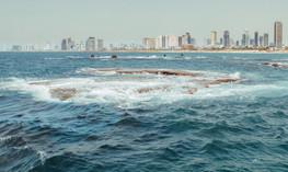 Вид на Тель-Авив, Израиль. View of Tel Aviv, Israel.