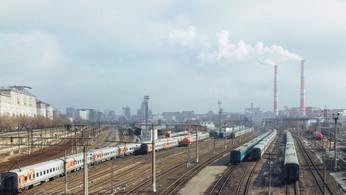 Рижский вокзал. Riga station.