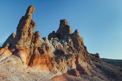 Лавовые скалы. Тенерифе.