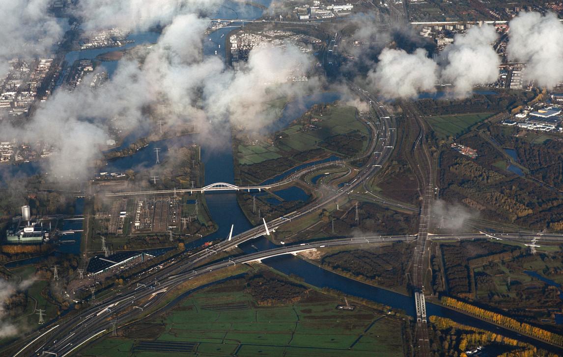 Окрестности Амстердама, Голландия. The outskirts of Amsterdam, Holland.