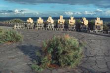 Памятник рыбе, спасшей местный народ от голода на о.Тенерифе