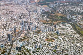 Tel Aviv Cityscape Location: Israel, Tel-Aviv №160529