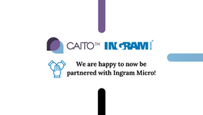 We Are Happy To Now Be Partnered With Ingram Micro!