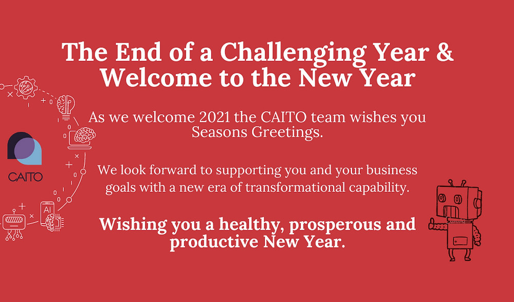 The End of a Challenging Year & Welcome to the New Year