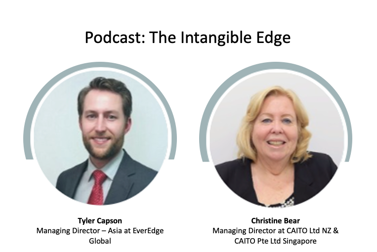 CAITO's Founder, Christine Bear is talking with Tyler Capson about Intangible Assets.