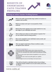 Your Benefits Of Undertaking CAITO Teacher Profiling