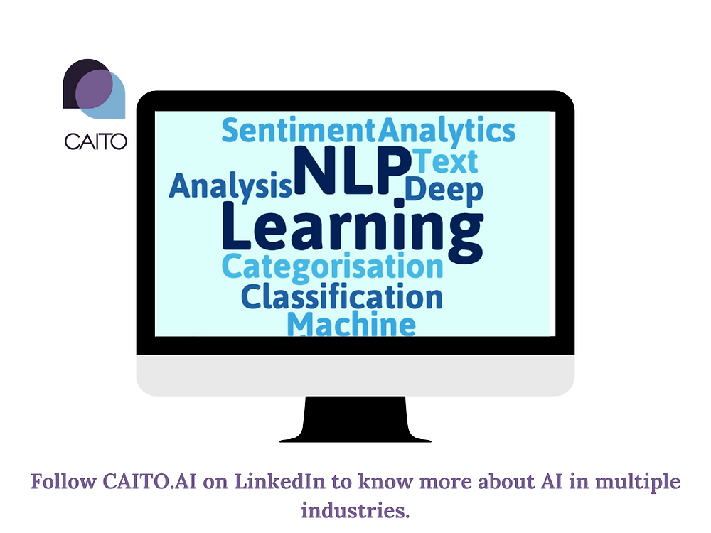 CAITO's customisable platform applies NLP to enable Users to get access to all relevant unstructured data which until now, has been remained hidden.