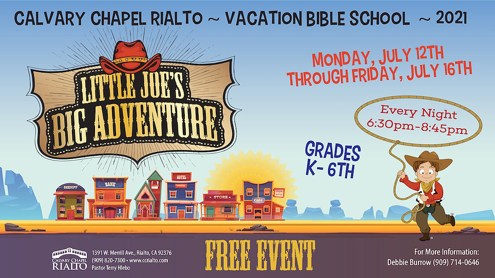 ccrialto vacation bible school VBS slide