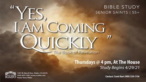 Senior Saint's Bible Study