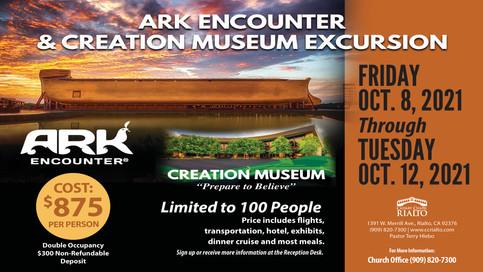 Ark Encounter & Creation Museum Excursion