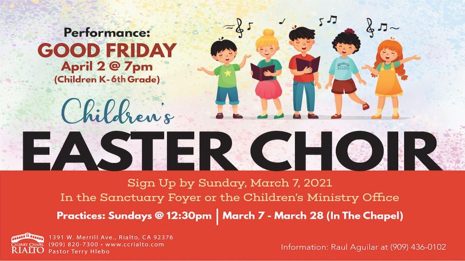 Children's Easter Choir