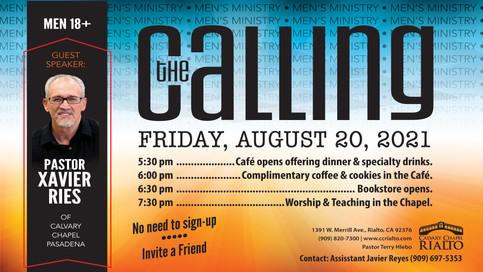"Men's Fellowship ""The Calling"""