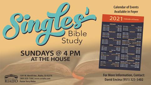 Single's Bible Study