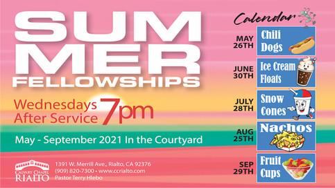 Summer Fellowships!