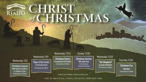 Celebrating the Christ of Christmas